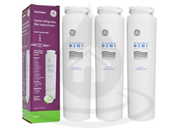 MSWF SmartWater General Electric x3 Refrigerator Water Filter