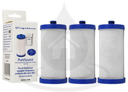 RG-100 WF1CB PureSource Frigidaire x3 Refrigerator Water Filter