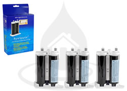 WF2CB NGFC 2000 PureSource2 FC-100 Frigidaire x3 Fridge Filter