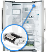 and replacement procedure for the ewf01 fc300 fridge water filter